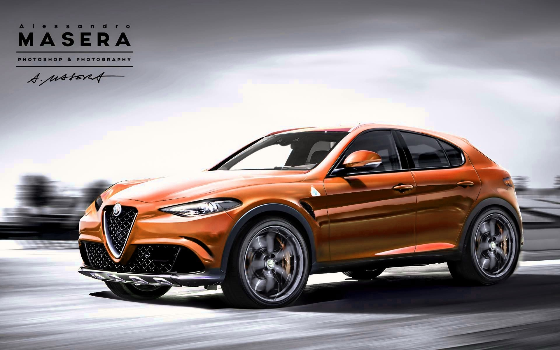 Alfa Romeo Stelvio Tipo 949 D Suv Name Confirmed Production Starts In Q4 2016 Autoevolution