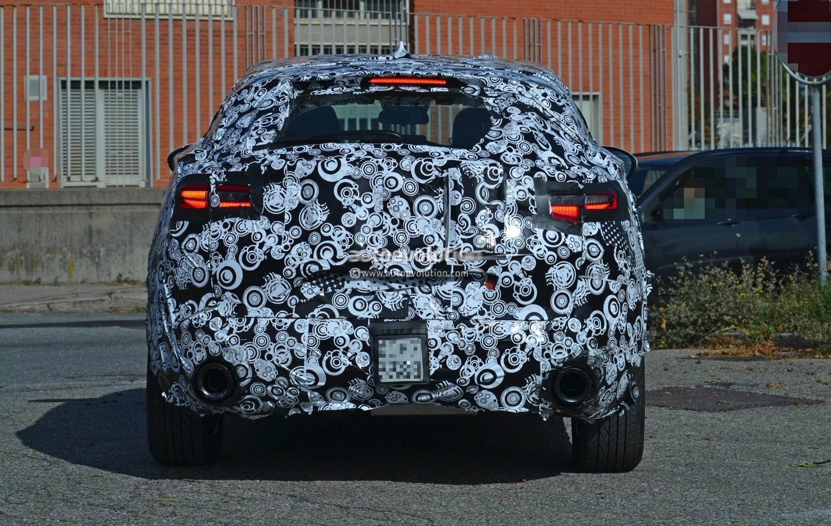 2017 Alfa Romeo Stelvio Tipo 949 Spied Again Shows Headlights And Tail Lights D Suv