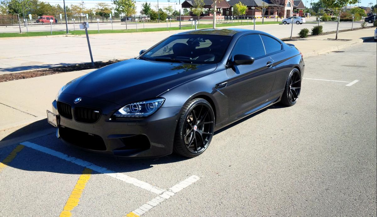All Black Bmw F13 M6 Looks Menacing Autoevolution