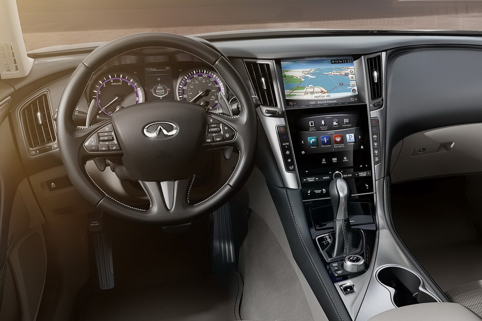 All New 2014 Infiniti Q50 Sedan Unveiled Autoevolution