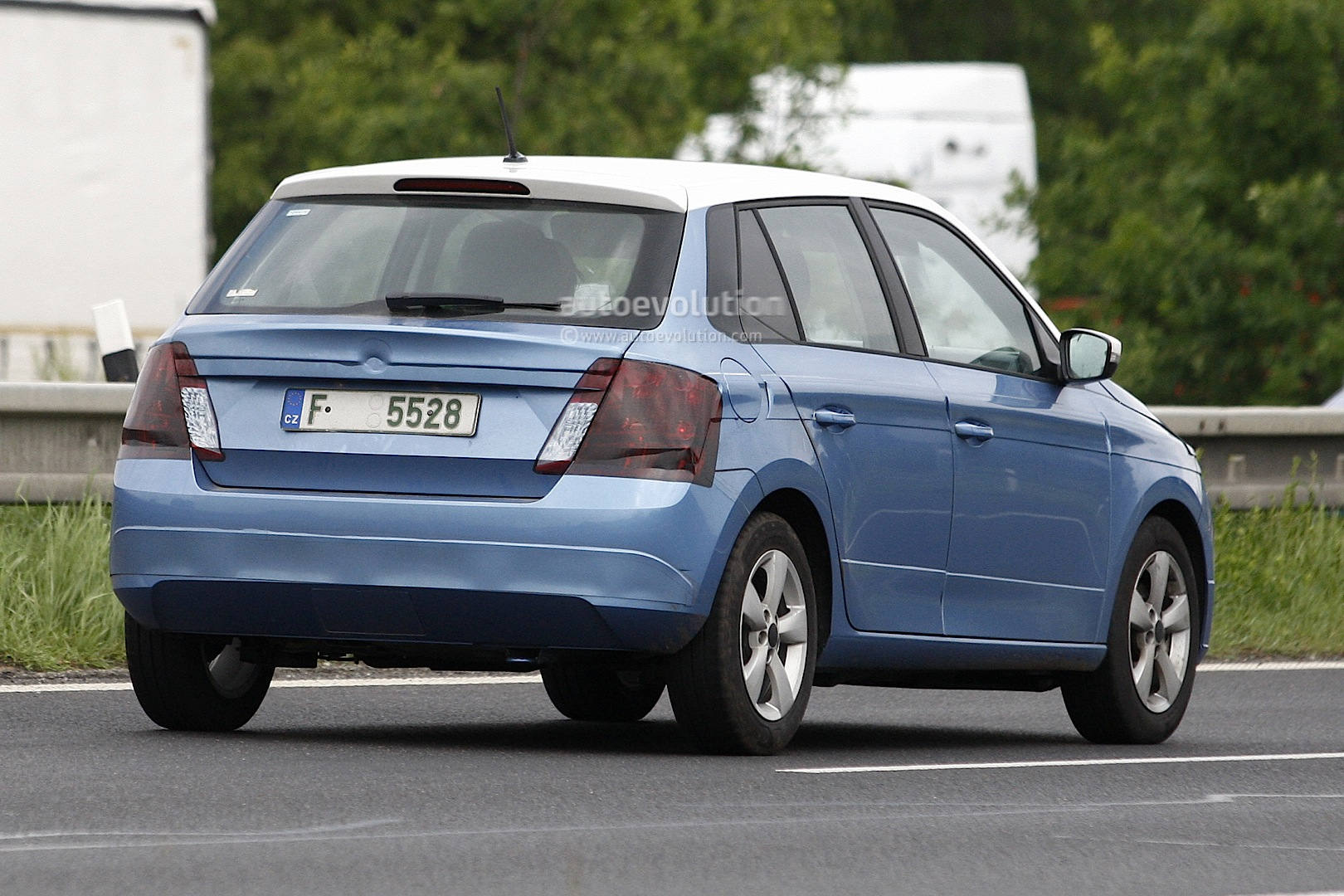 All New 2014 Skoda Fabia Spotted Almost Undisguised