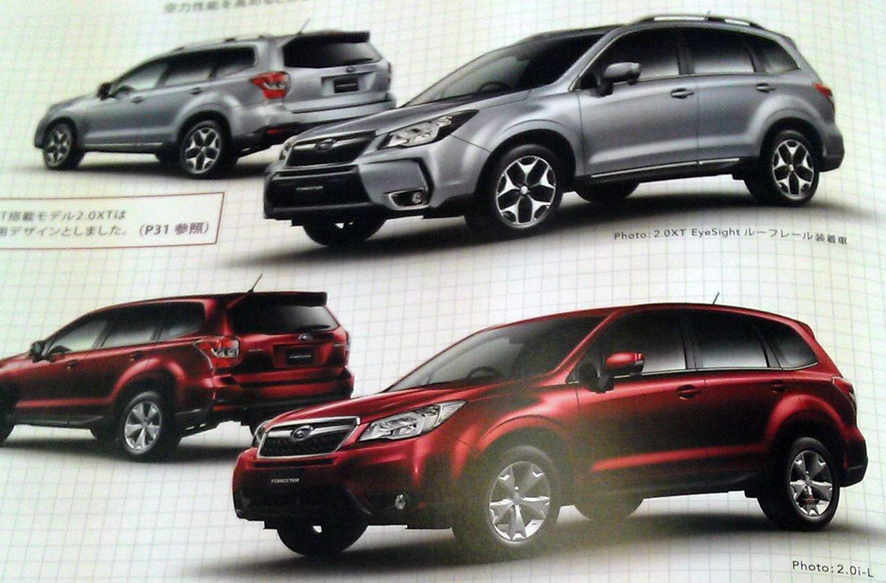 2014 forester specs