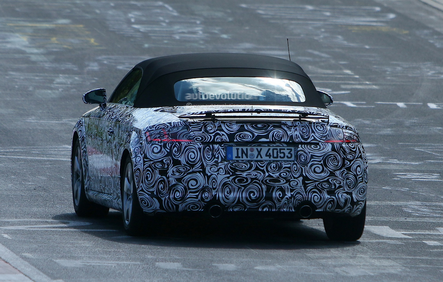 All-New 2015 Audi TT Roadster Spied Testing at the ...