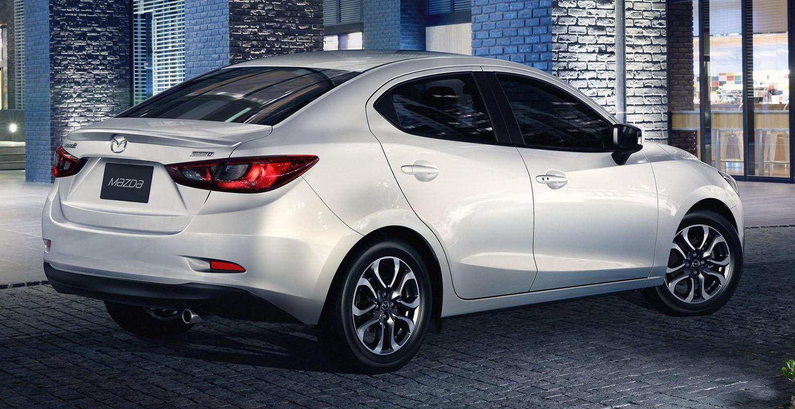 All-New 2015 Mazda2 Sedan Revealed ahead of Thailand Debut ...