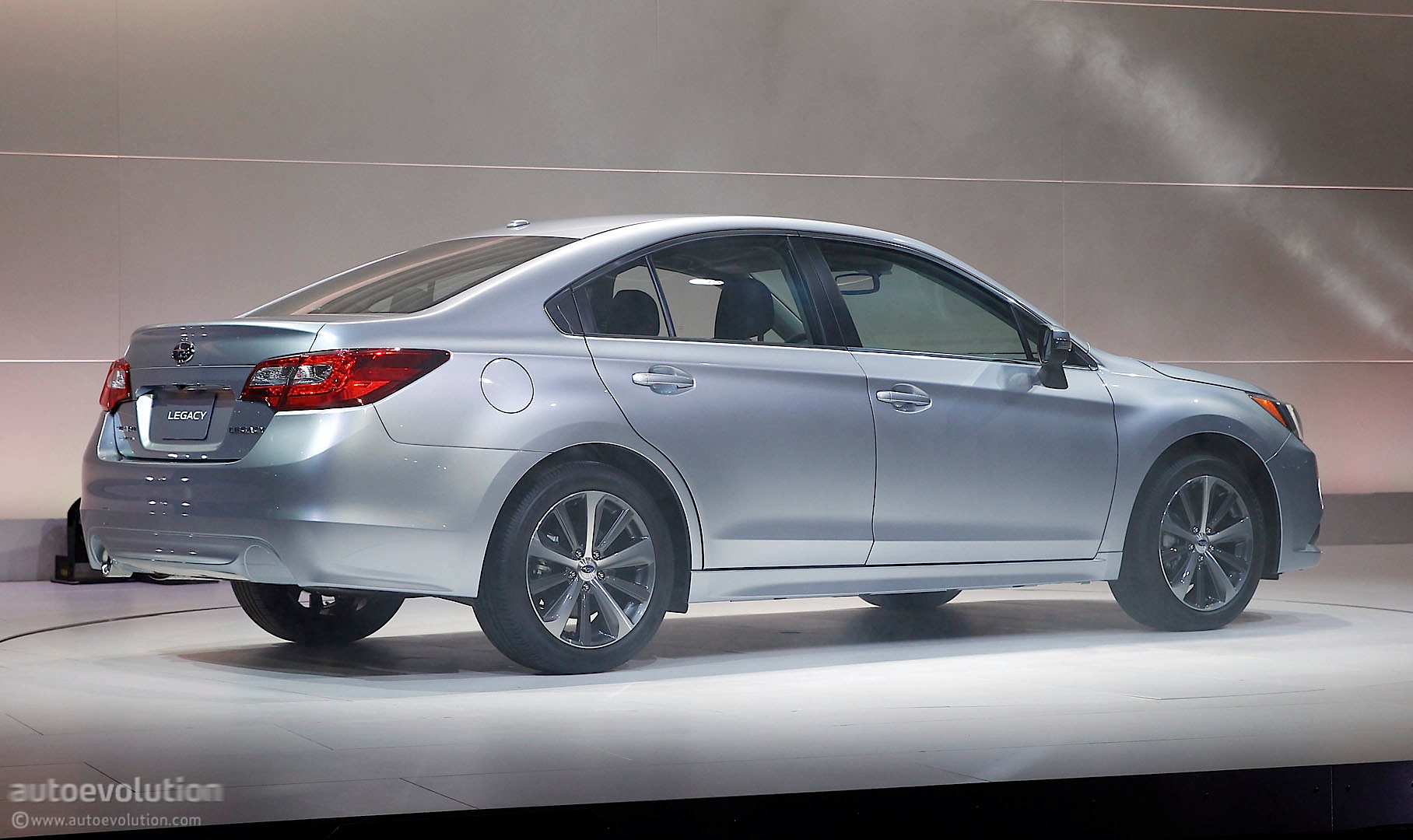 AllNew 2015 Subaru Legacy Officially Revealed in Chicago