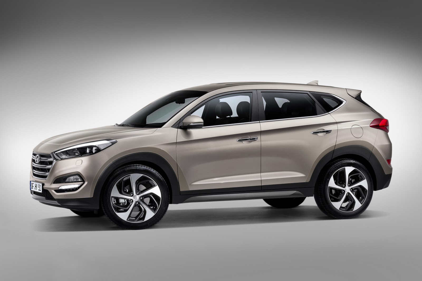 All New 2016 Hyundai Tucson Revealed With Stylish New
