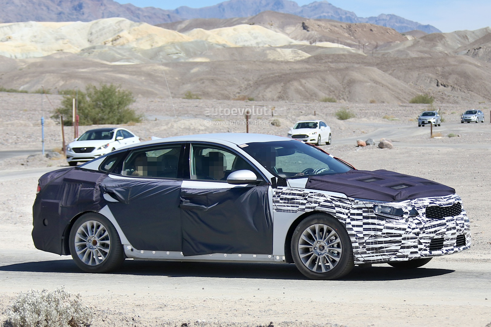 All-New 2016 Kia Optima Spied for the First Time ...