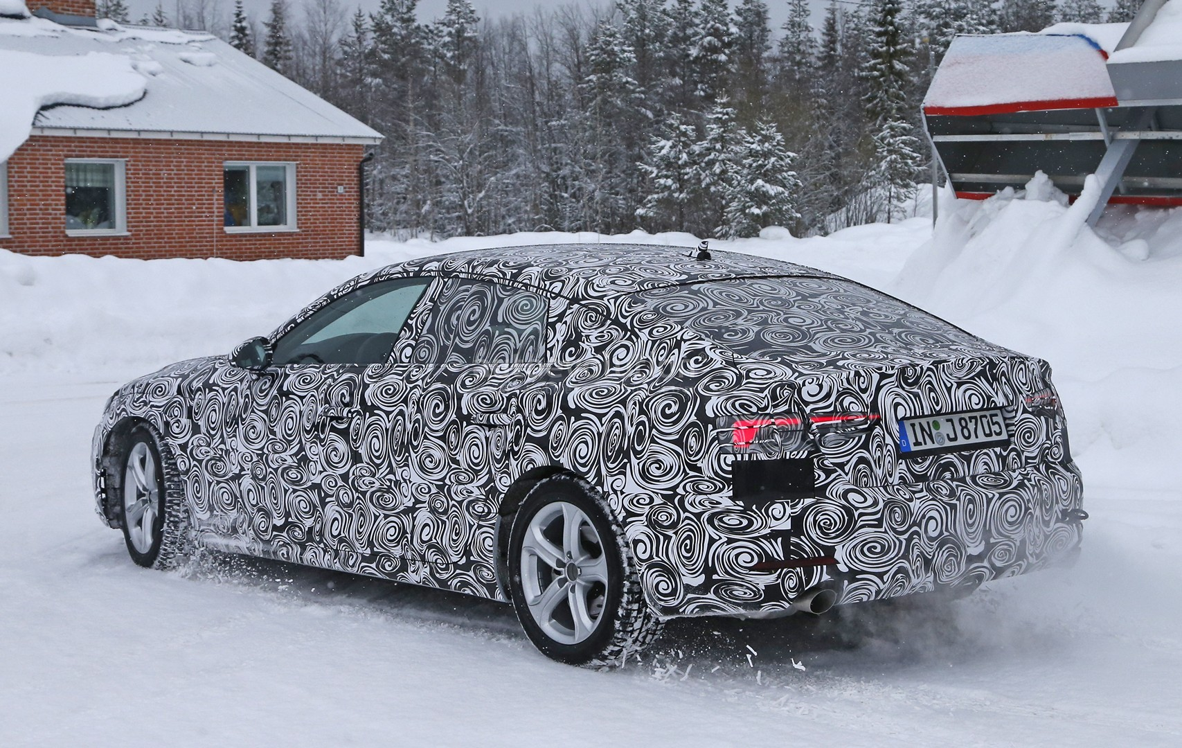 Audi Sport Quattro >> All-New 2017 Audi A5 Sportback 4-Door Coupe Spied for the First Time - autoevolution