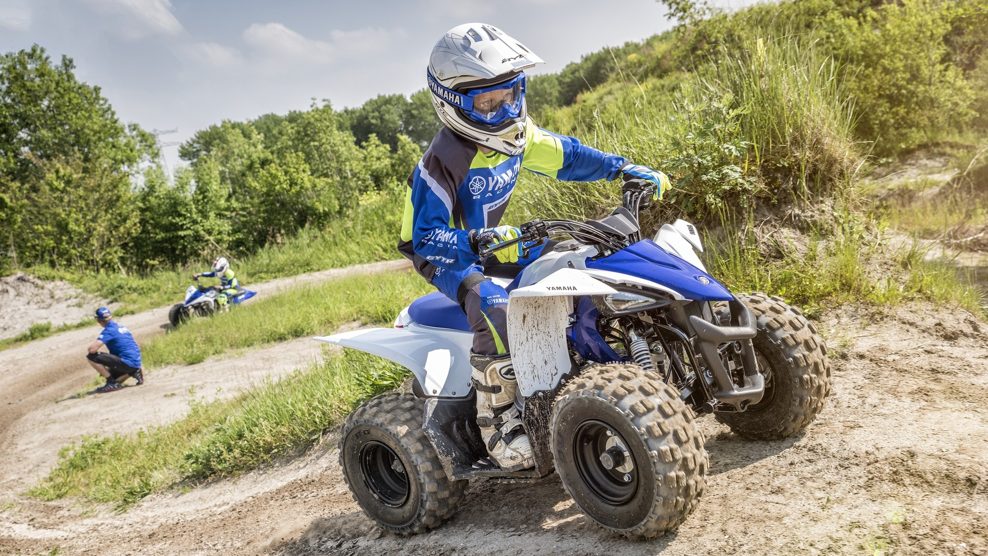 All New 2017 Yamaha Yfz50 Atv For Kids 6 To 9 Autoevolution