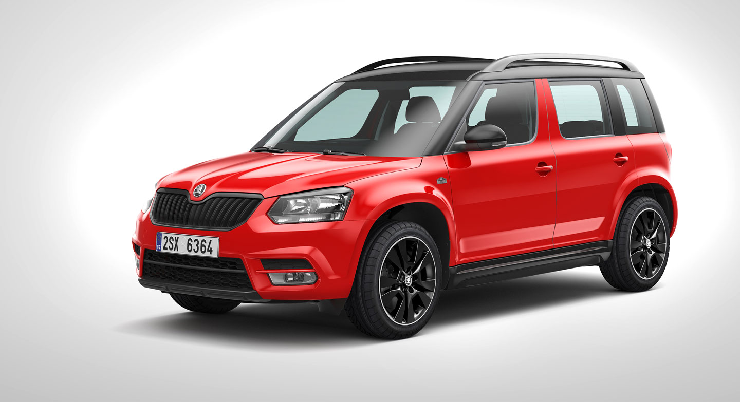 all new 2018 skoda yeti will look like the kodiaq. Black Bedroom Furniture Sets. Home Design Ideas