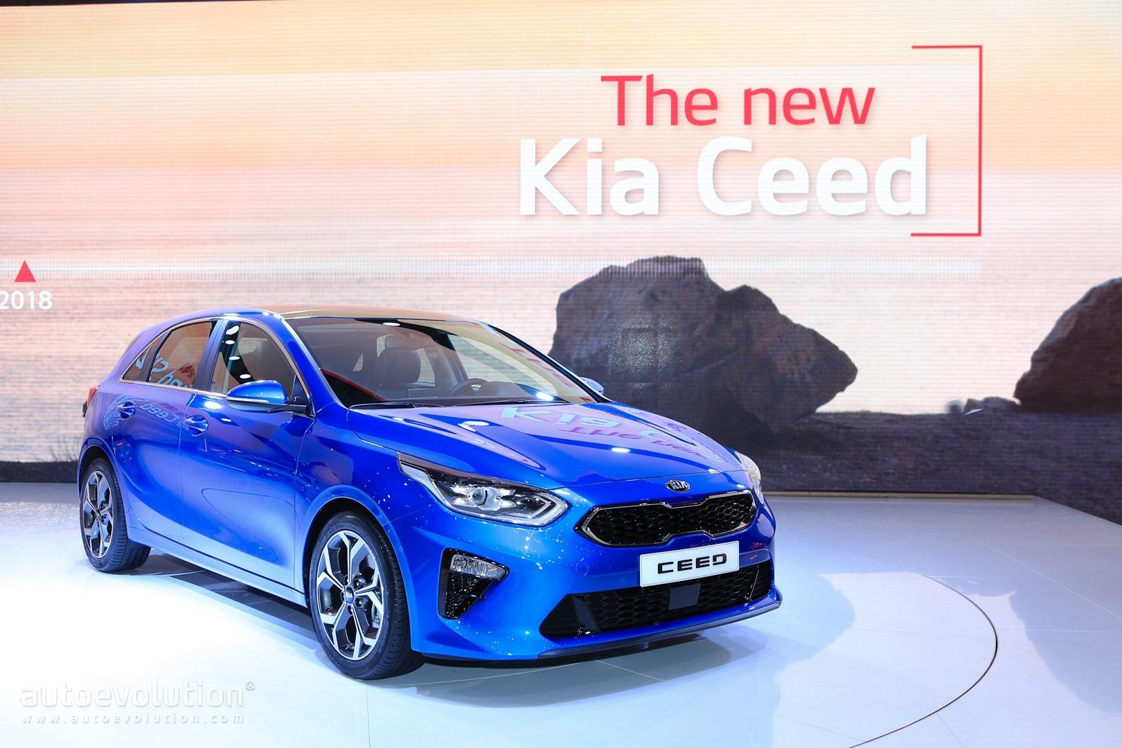 All New 2019 Kia Ceed Wagon Joins Hatchback In Geneva Autoevolution
