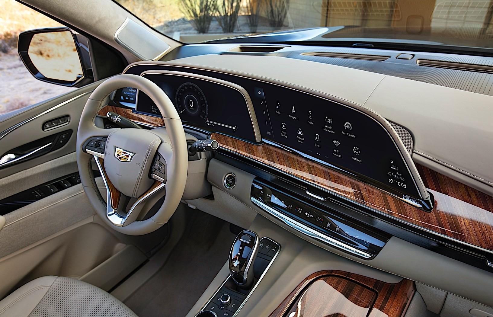 All-New 2021 Cadillac Escalade Gets 360-Degree ...