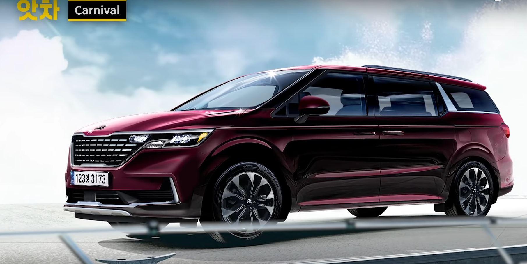 All-New 5 Kia Sedona Minivan Scooped - autoevolution