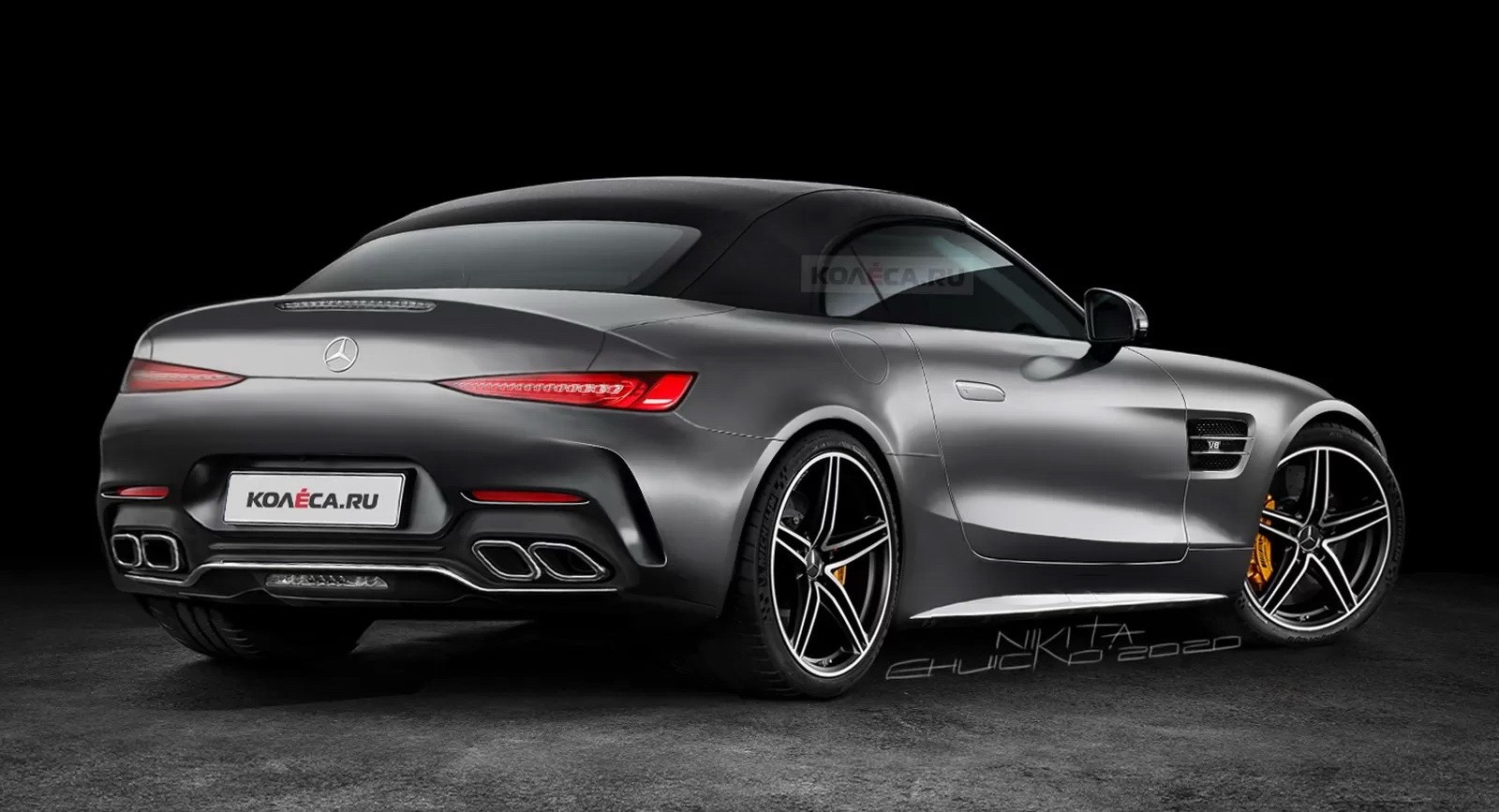 All-New 2022 Mercedes-AMG SL-Class Roadster Gets Accurate ...