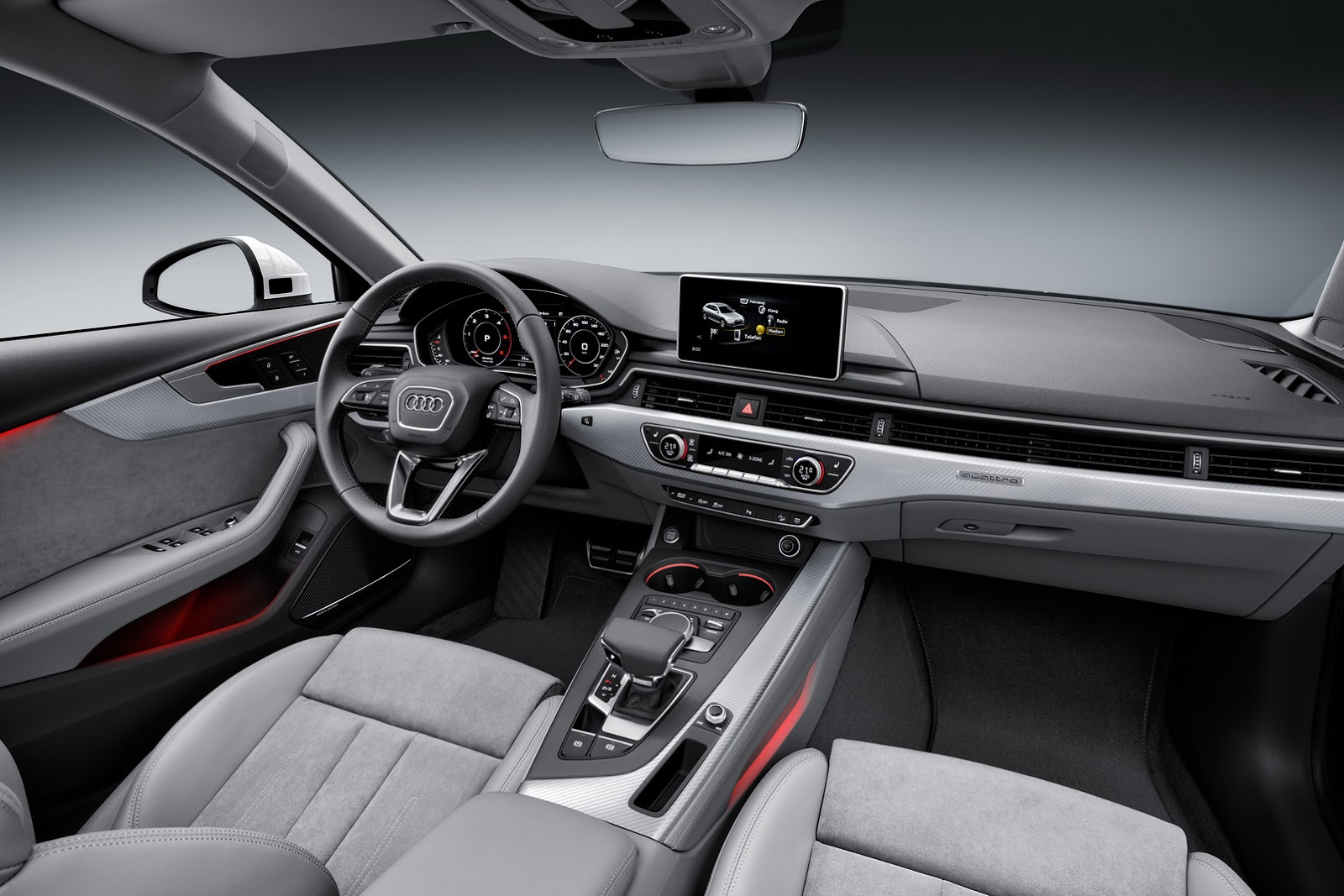 Audi a4 s line station wagon 2015 interior