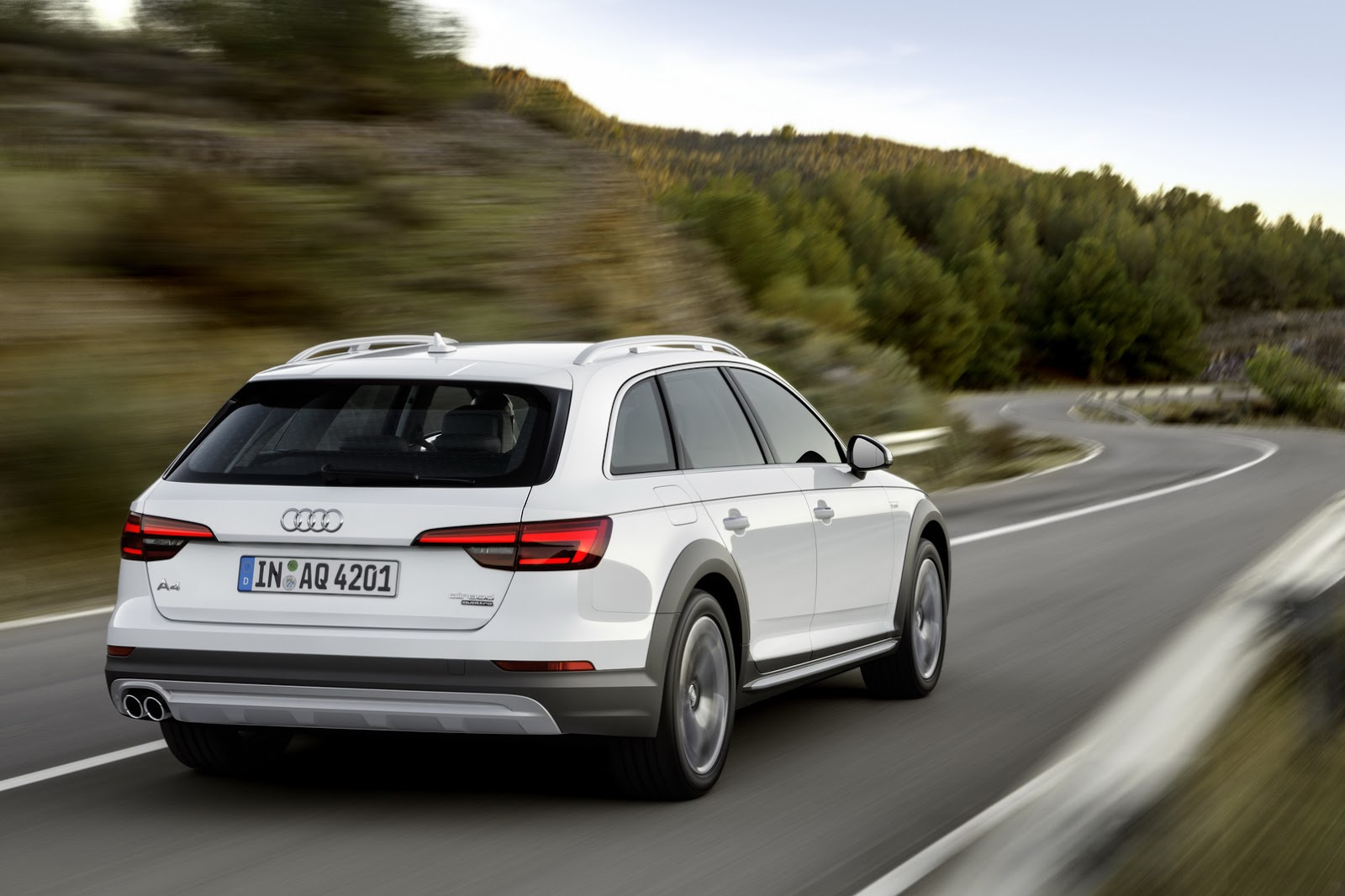 All-New Audi A4 allroad quattro Available from €44,750 with 2.0 and 3.0 Engines - autoevolution