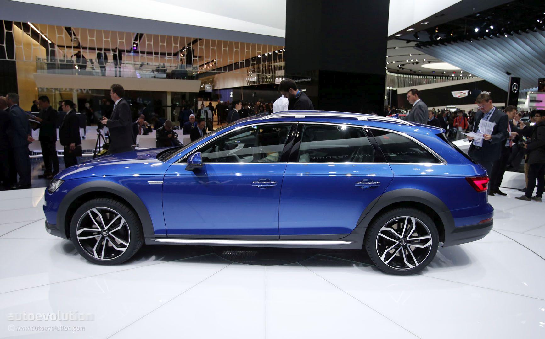 2017 Audi A4 Allroad Quattro In Detroit Side View