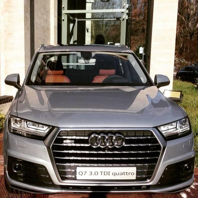 2015 Audi Q7: A New Design Language From Ingolstadt