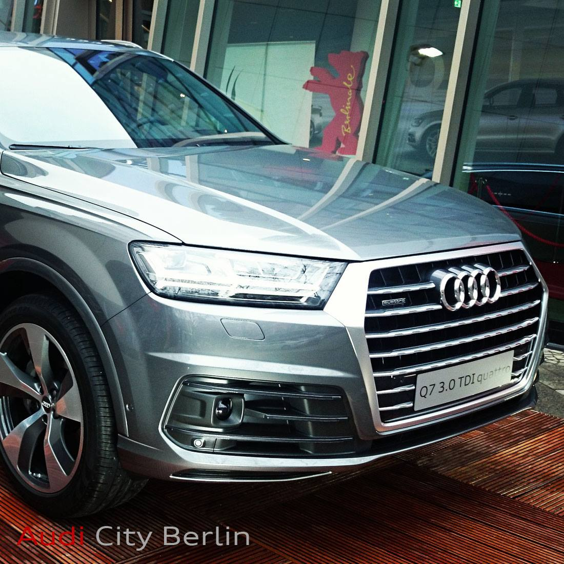 2015 Audi Q7 Pickup Truck Rendered Aluminum Giant