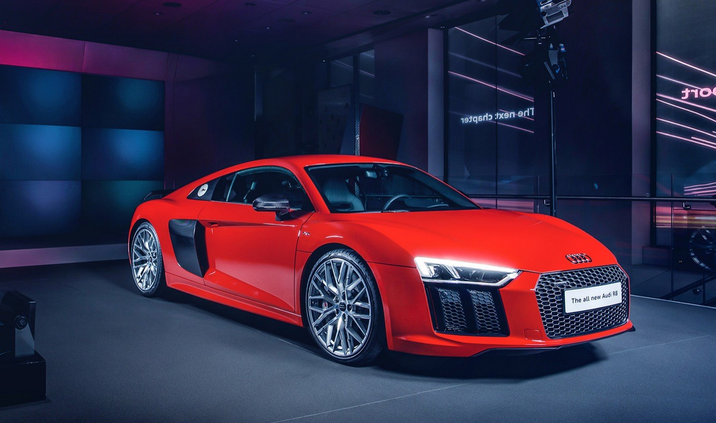 Fastest Car In The World 2015 >> All-New Audi R8 Launching in Britain: V10 Supercar Costs 911 Turbo Money - autoevolution
