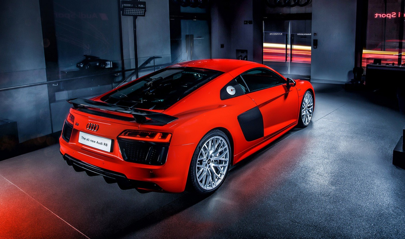 All New Audi R8 Launching In Britain V10 Supercar Costs