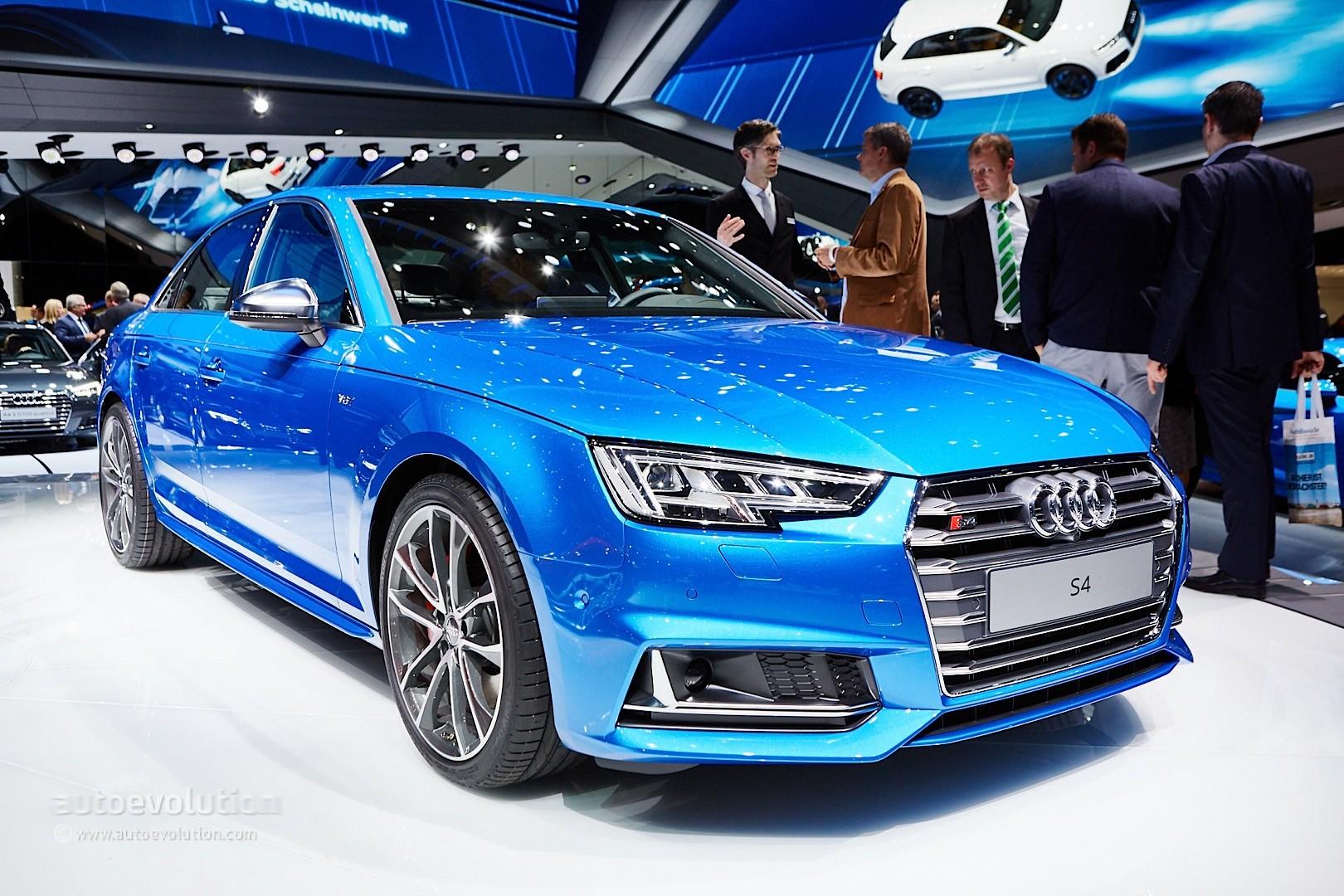 2016 Audi S4 Will Debut At The 2015 Iaa In Frankfurt
