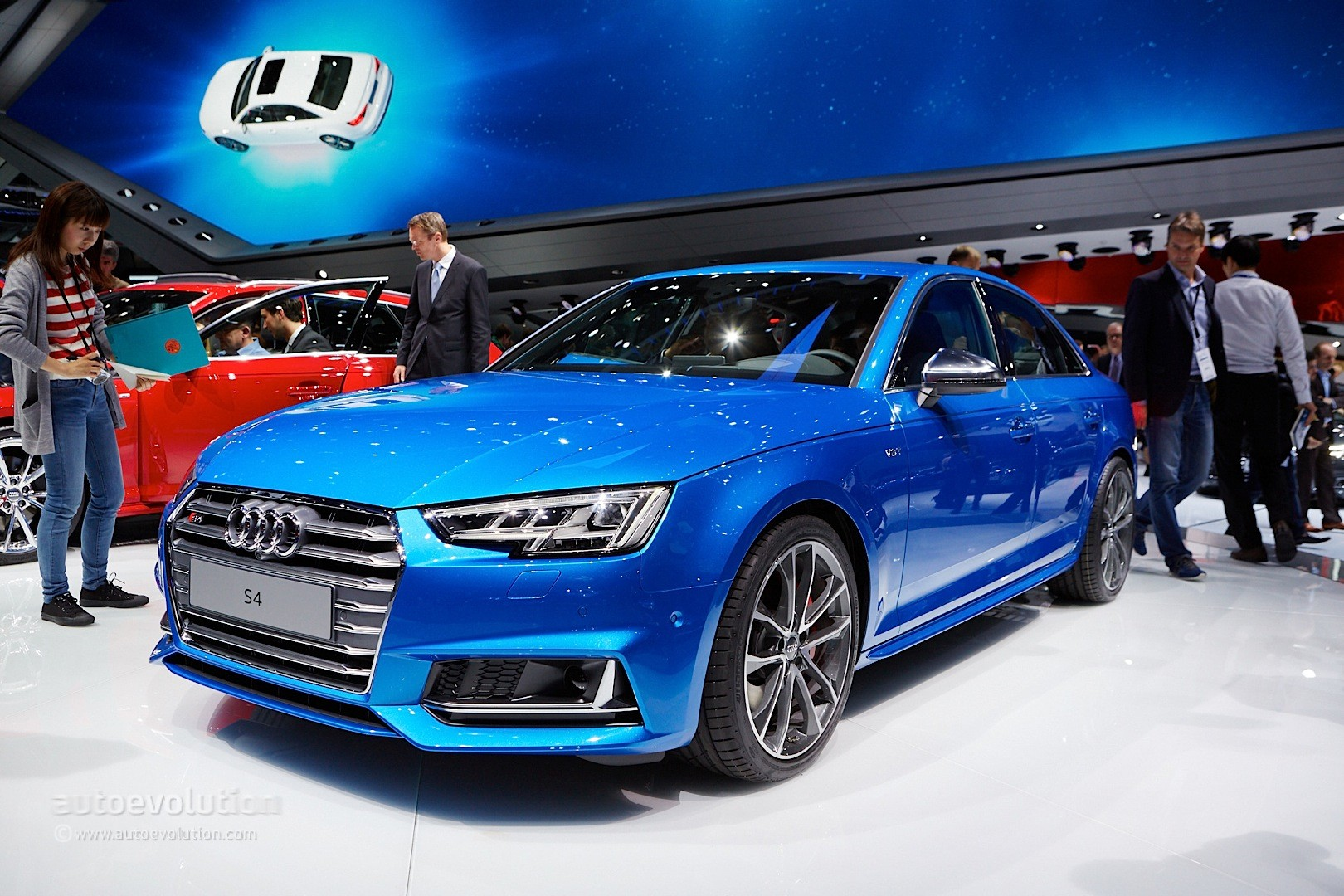all new audi s4 sedan debuts with 3 liter turbocharged. Black Bedroom Furniture Sets. Home Design Ideas