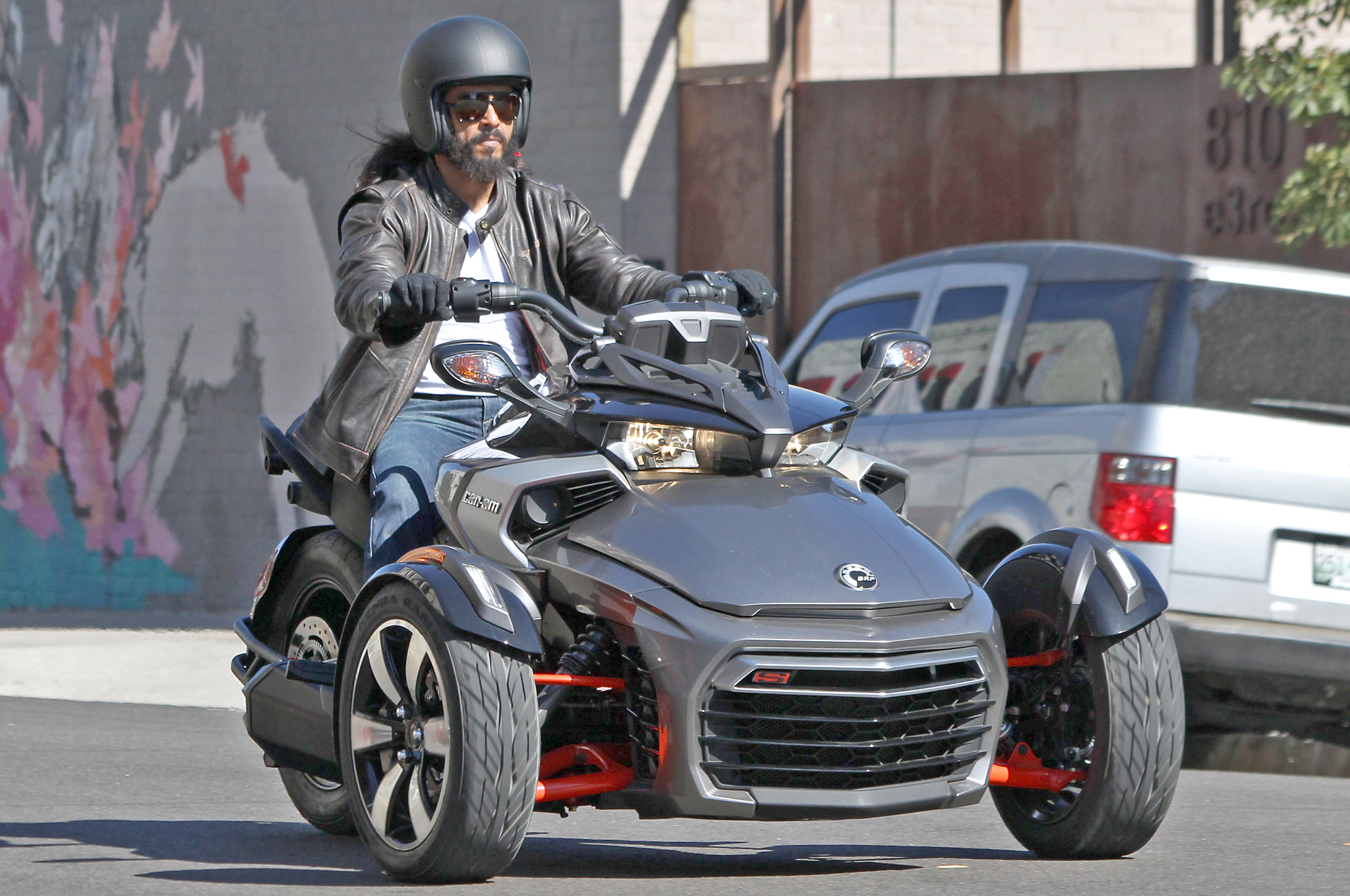 All New Can Am Spyder F3 Efi Spotted With No Camouflage