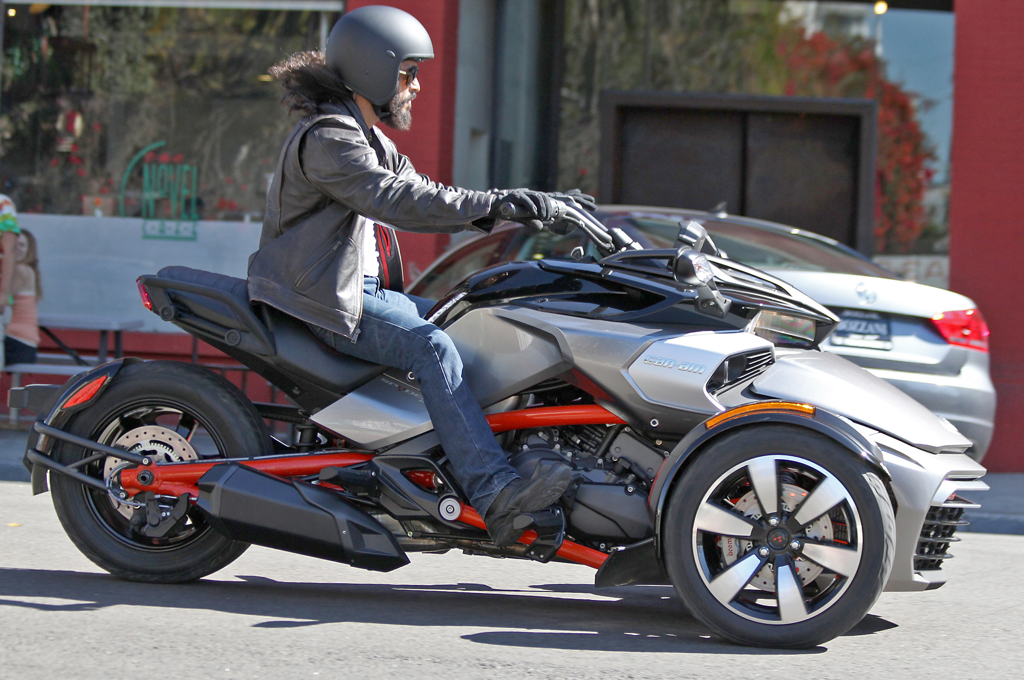 allnew canam spyder f3 efi spotted with no camouflage