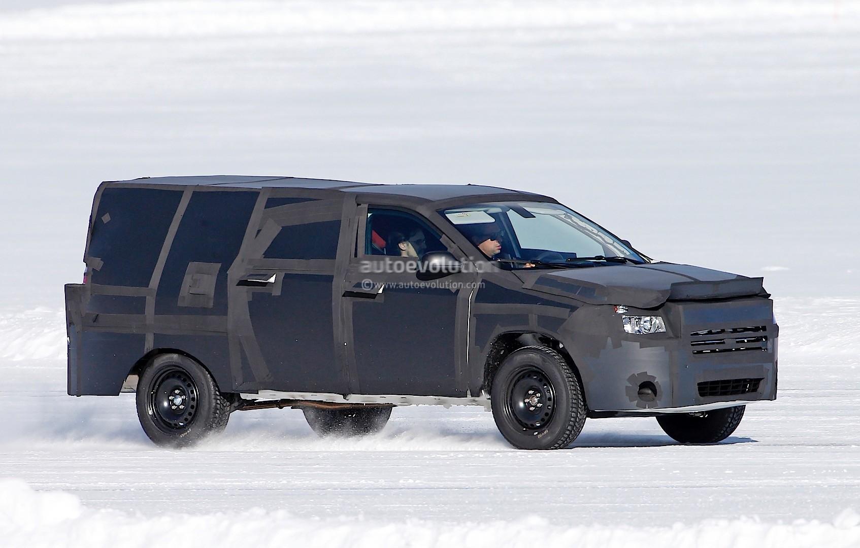 All-New Dodge Dakota / Mid-Size Ram Pickup Truck Spied ...