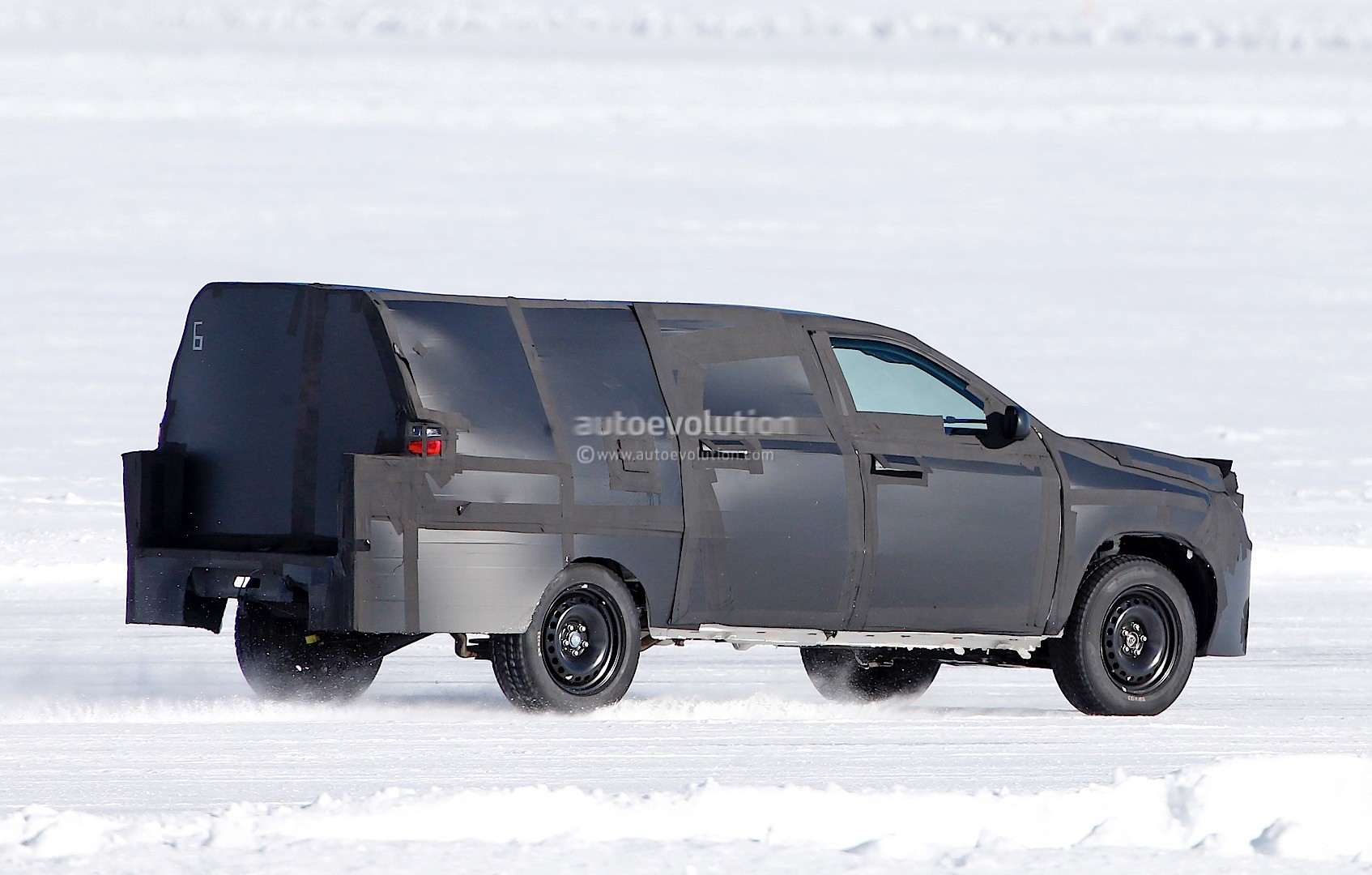 All New Dodge Dakota Mid Size Ram Truck Prototype