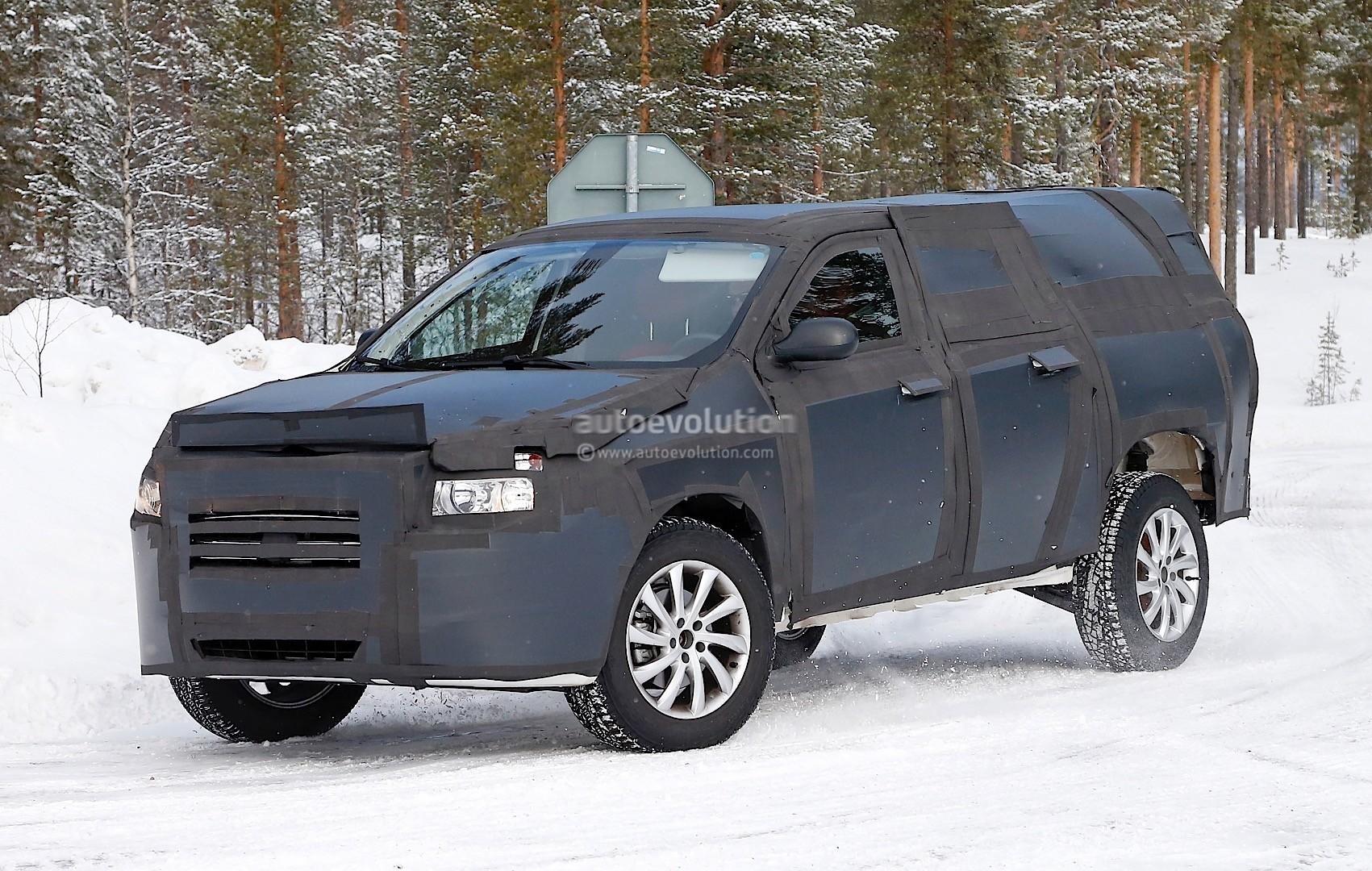 All-New Dodge Dakota / Mid-Size Ram Pickup Truck Spied Testing