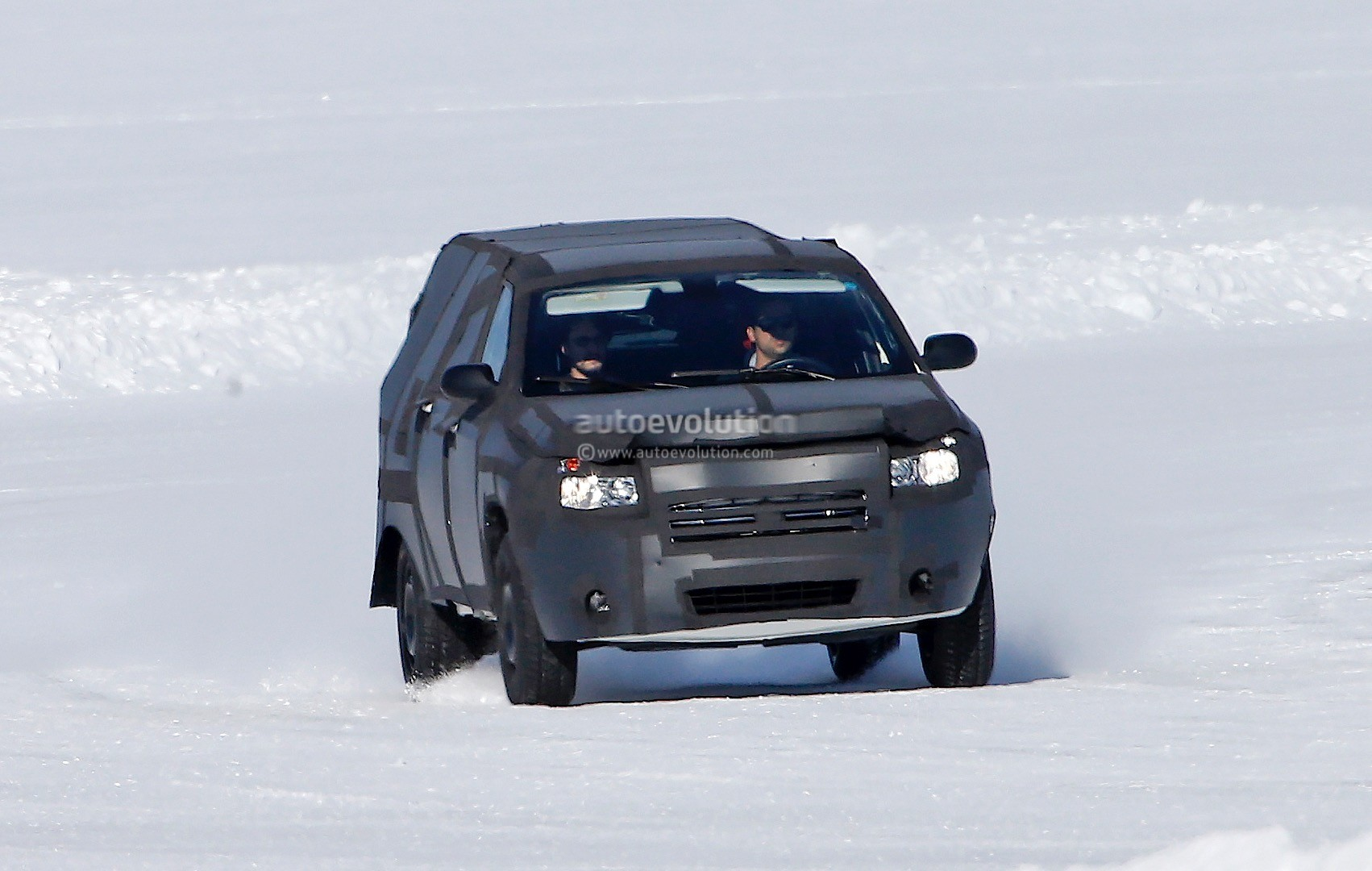 All-New Dodge Dakota / Mid-Size Ram Pickup Truck Spied ...