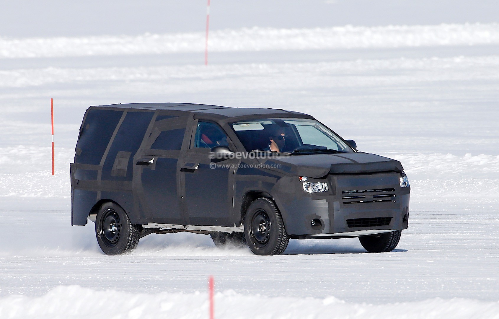 All New Dodge Dakota Mid Size Ram Truck Prototype