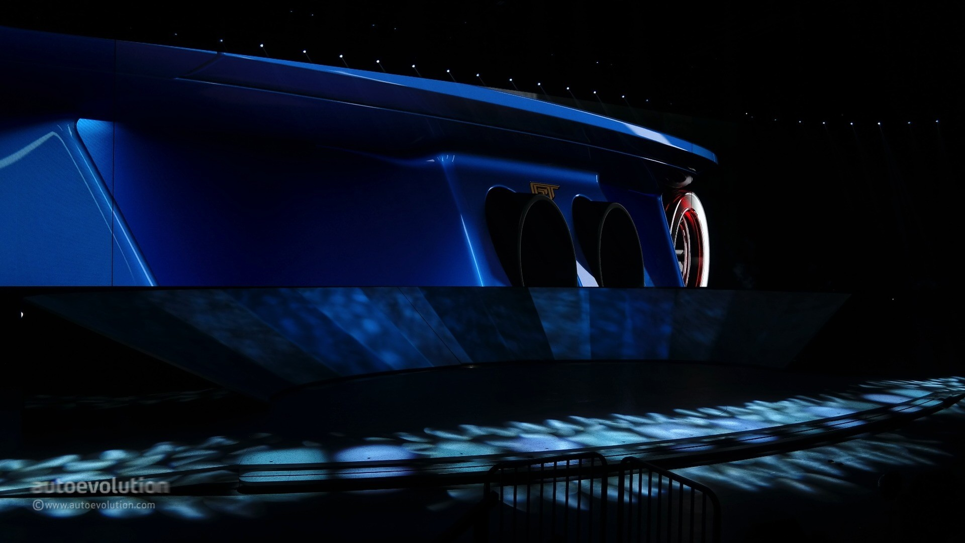 All-New Ford GT Concept Looks Production-Ready, Has 600 HP V6 EcoBoost ...