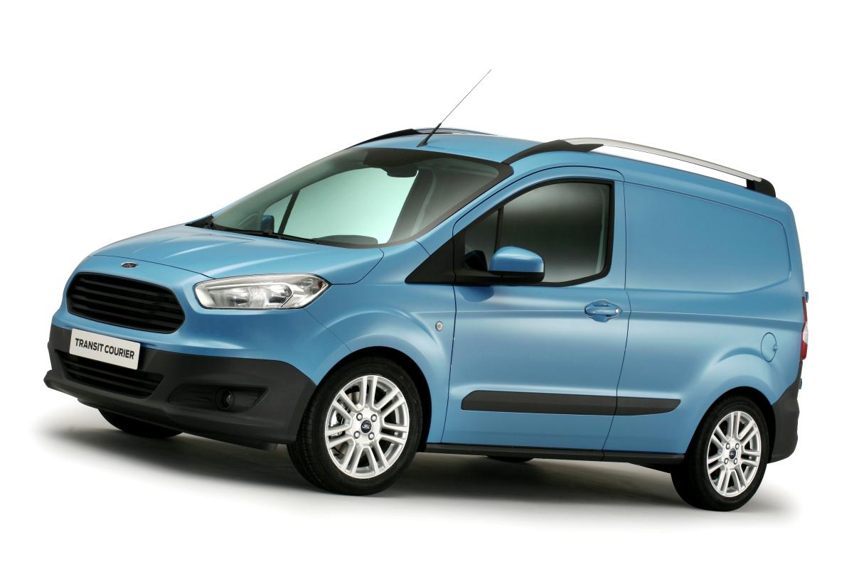 All new ford transit courier revealed autoevolution
