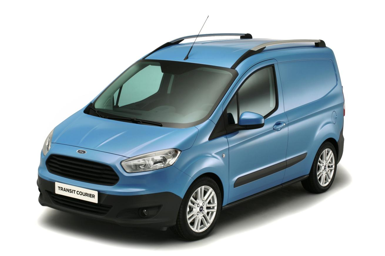 all new ford transit courier revealed autoevolution. Black Bedroom Furniture Sets. Home Design Ideas