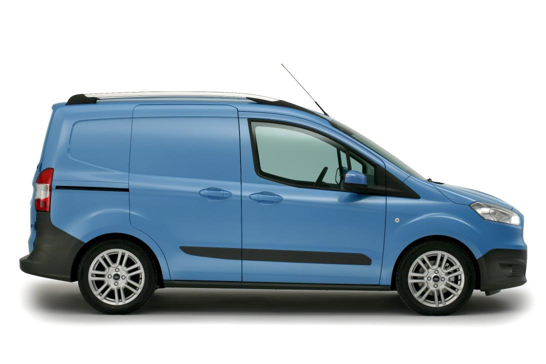 all-new ford transit courier revealed