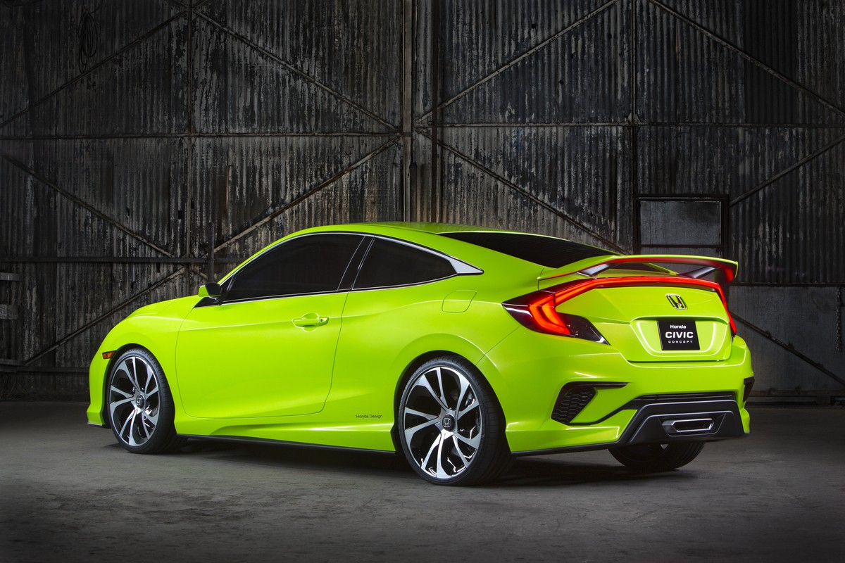 Novo Honda Civic Type R >> All-New Honda Civic Will Debut in Fall 2015 with 40 MPG, Dropping Hybrid and CNG - autoevolution