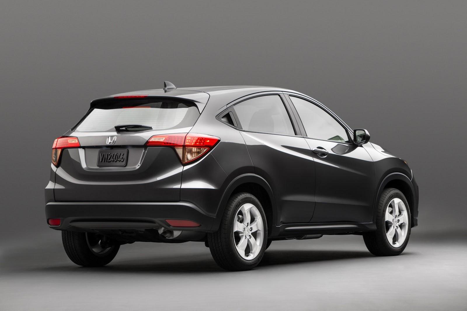 Honda Models 2015 >> All New 2015 Honda Hr V Will Launch This Winter Autoevolution