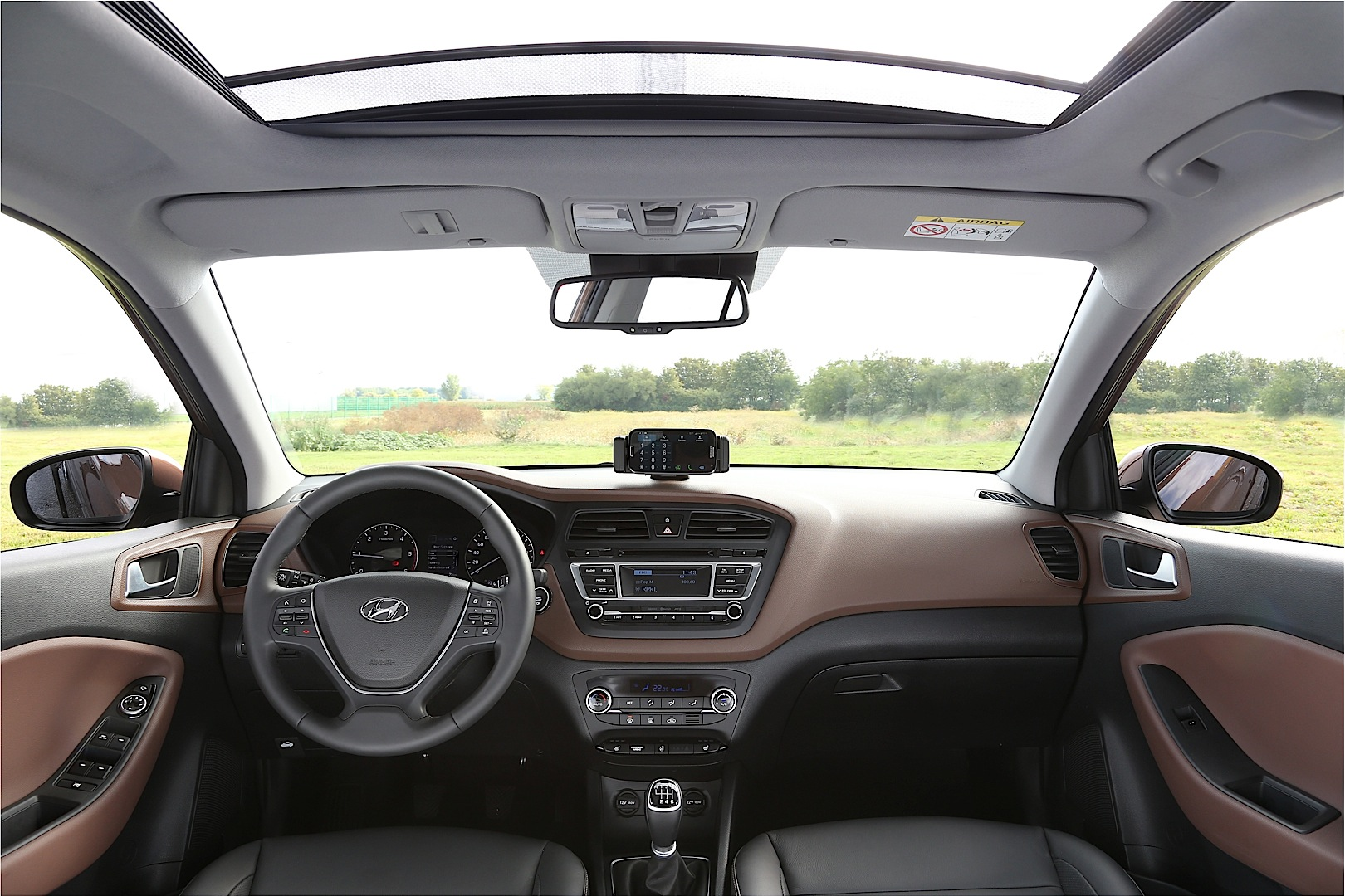 i20 interior hyundai detailed autoevolution