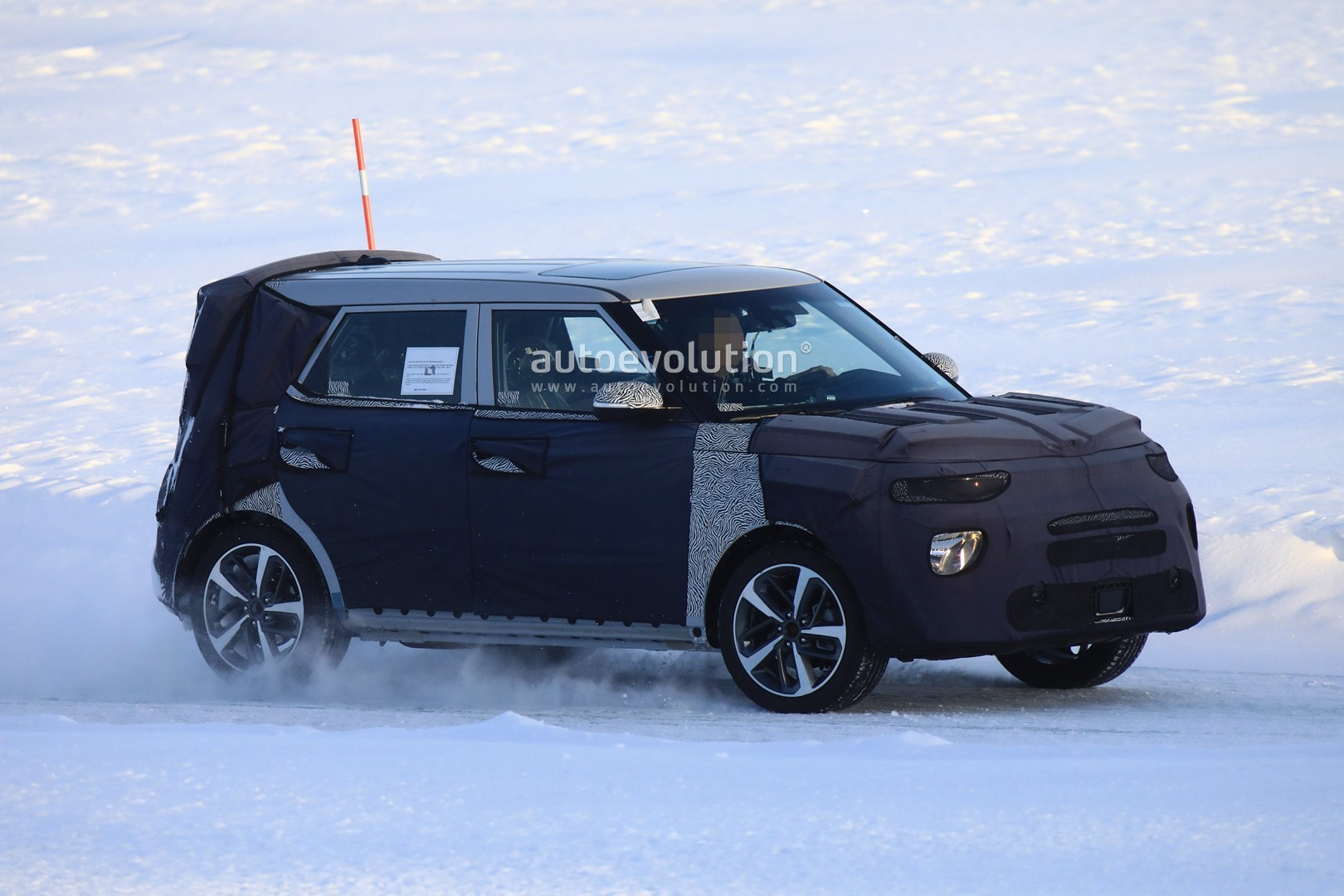 All New Kia Soul Makes Spyshots Debut Should Have Awd