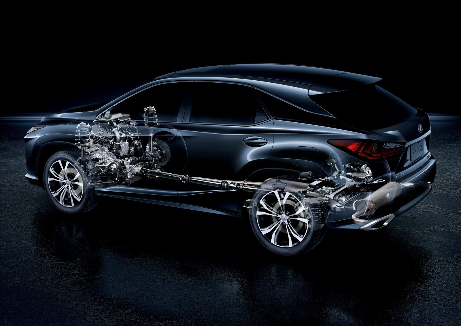 Lexus 3 Row Suv >> All-New Lexus RX Debuts in Japan with 2-Liter Turbo and Hybrid Powertrains - autoevolution