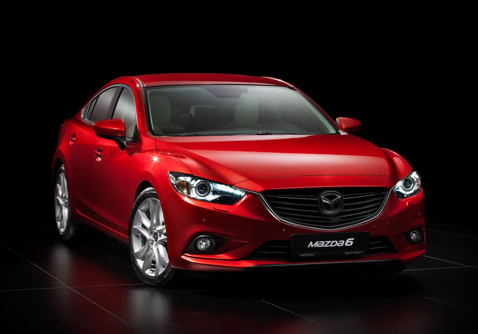 all new mazda 6 officially unveiled autoevolution. Black Bedroom Furniture Sets. Home Design Ideas