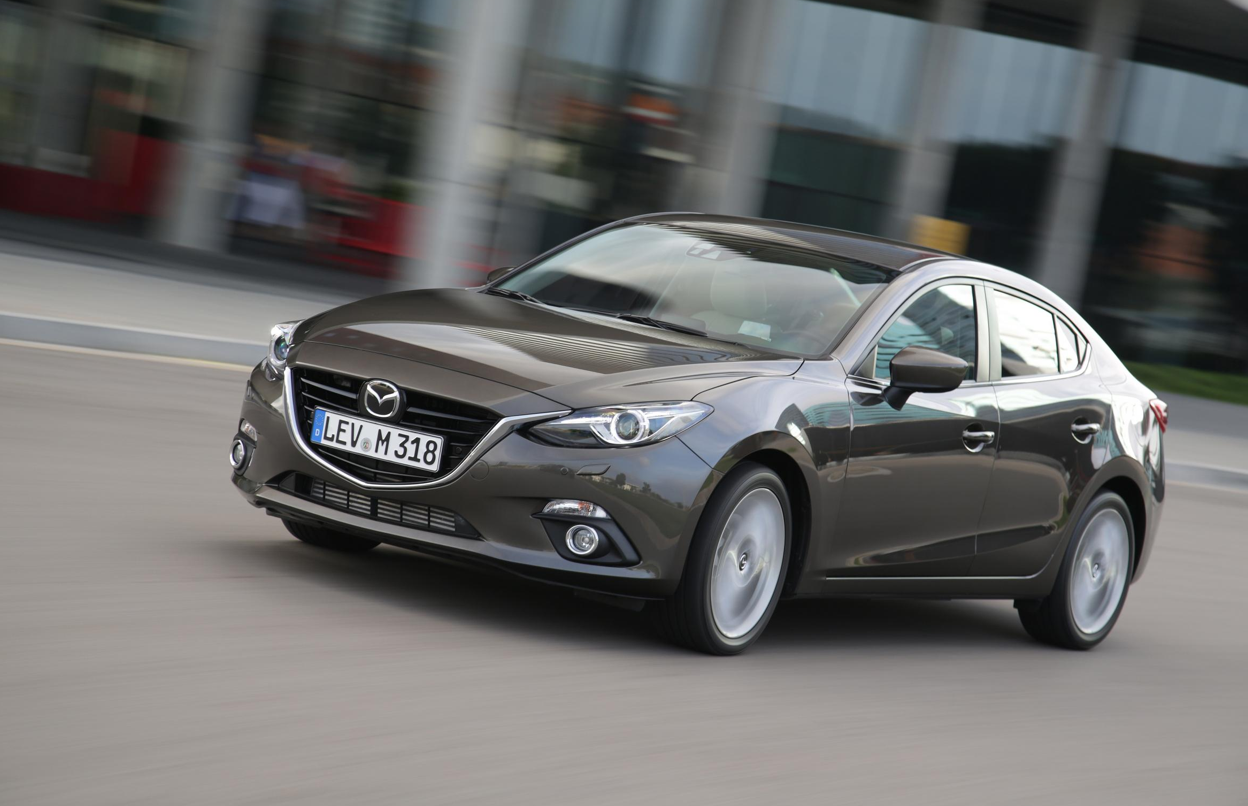 All-New Mazda3 Sedan and Hatch to Make European Debut in ...