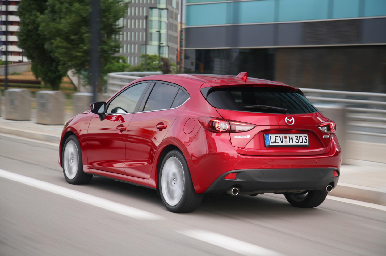 Mazda 3 Skyactiv >> All-New Mazda3 Sedan and Hatch to Make European Debut in ...