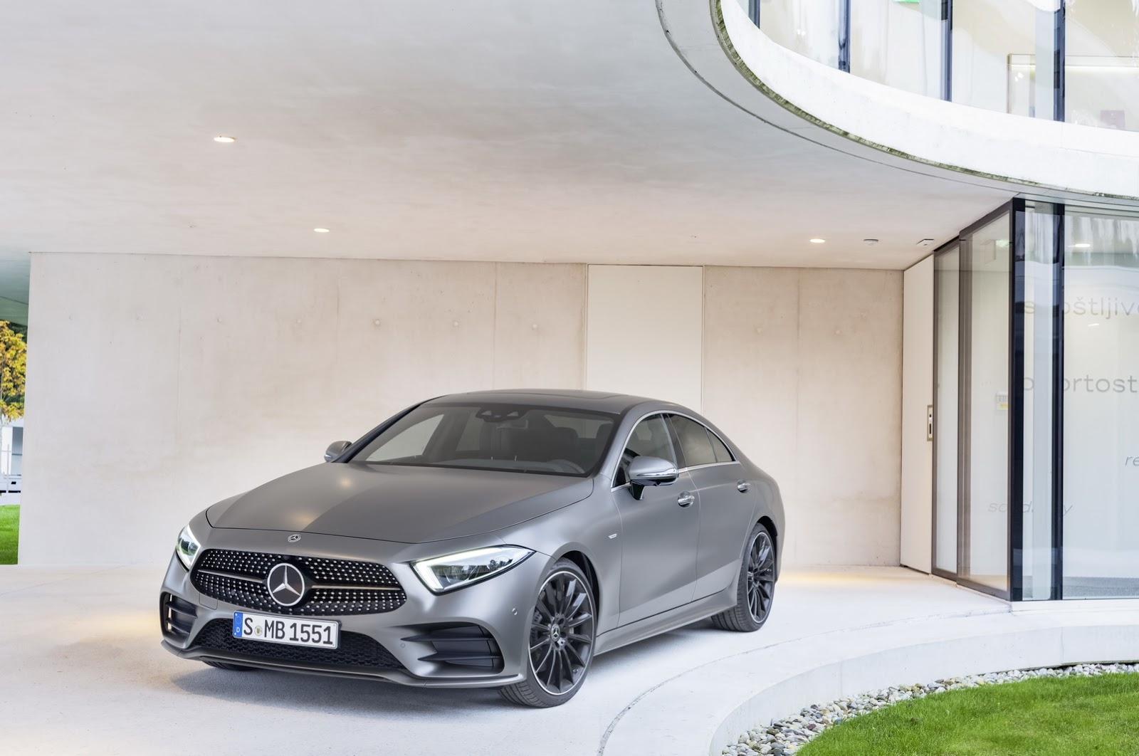 All new mercedes cls class uk pricing and specifications for Mercedes benz cls 350 price