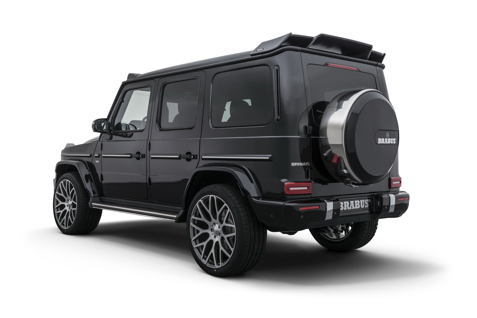 all new mercedes g 500 finally gets the brabus tuning. Black Bedroom Furniture Sets. Home Design Ideas