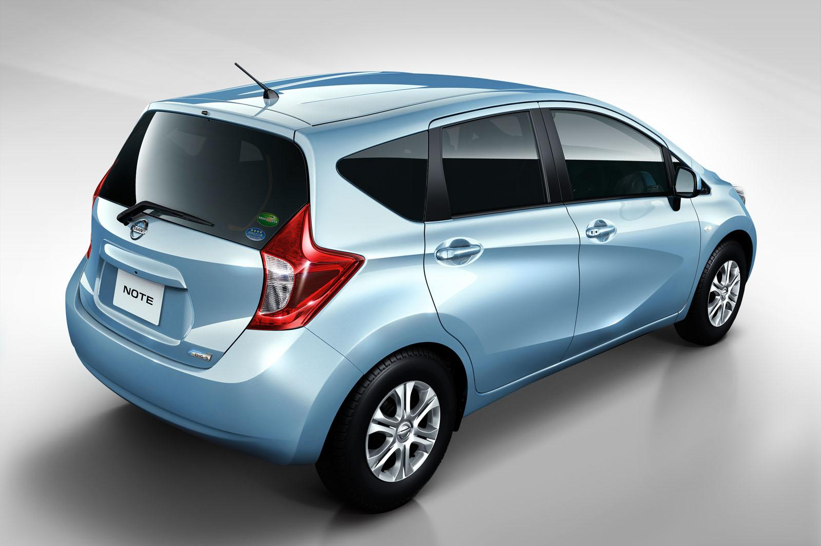 all new nissan note revealed autoevolution. Black Bedroom Furniture Sets. Home Design Ideas