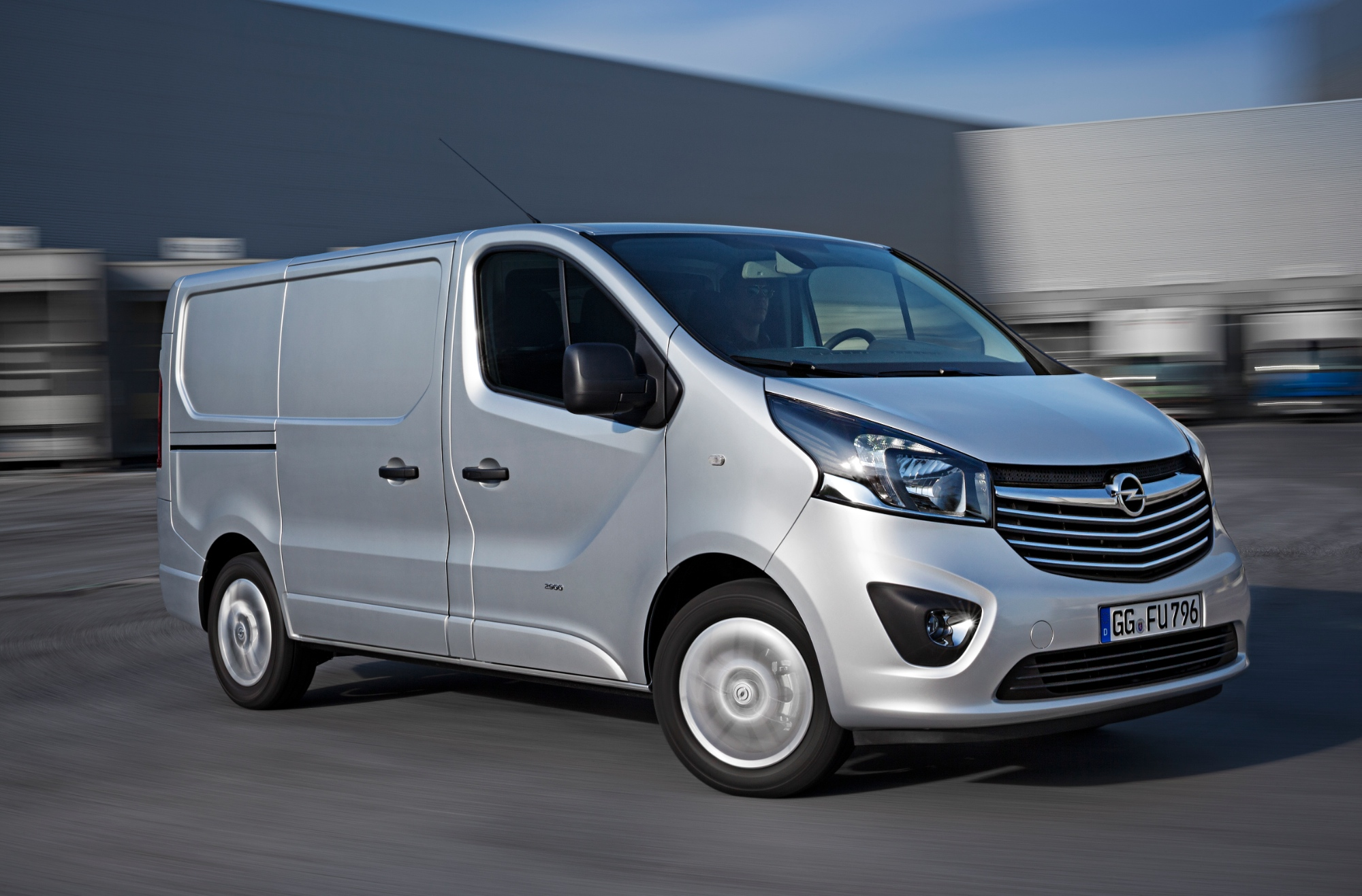 all new opel vivaro van goes on sale in europe autoevolution. Black Bedroom Furniture Sets. Home Design Ideas